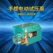 上海飞舟牌手提式管道测压电动试压泵