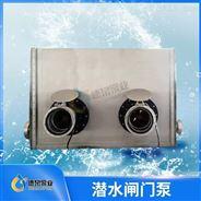 浙江湿式闸门泵全贯流泵厂家|一体化泵闸
