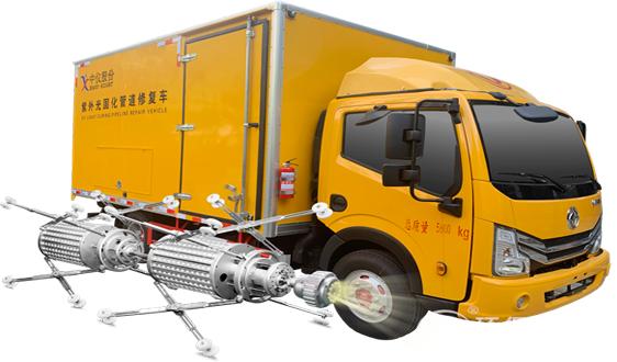 产品分享丨CIPP紫外光固化修复车,助力排水管道修复